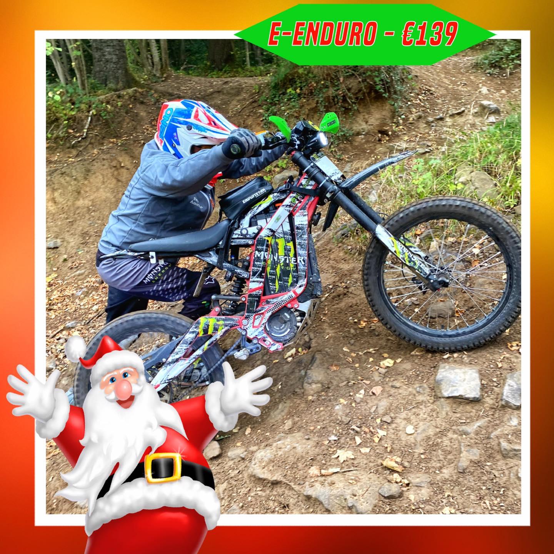 Kerst-initiaties Bilstain Endurofun 43 Surron